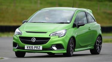 Vauxhall Corsa VXR - front cornering