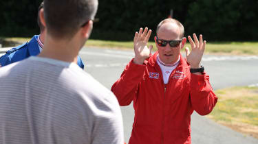 Red Arrows Aston Martin - interview