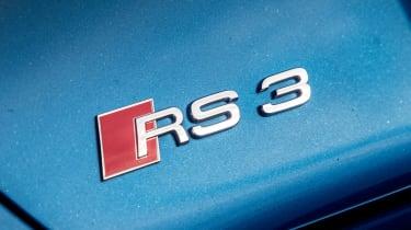 Audi RS3 long-term test review - badge