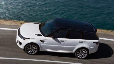 Range Rover Sport PHEV - above