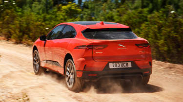 Jaguar I-Pace - rear off-road