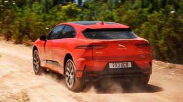 Jaguar I-Pace - rear off-road