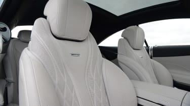 Mercedes S65 AMG seats