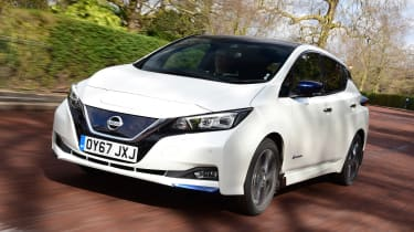 Nissan Leaf - best cars for less than £10 per day