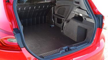 Ford Fiesta Sport Van cargo load area