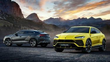 Lamborghini Urus - two