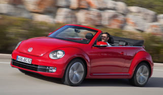 VW Beetle Cabriolet 2.0 TDI side