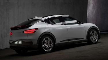 Genesis GV60 - rear dark