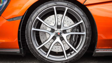 McLaren 570GT long term second report - wheel detail