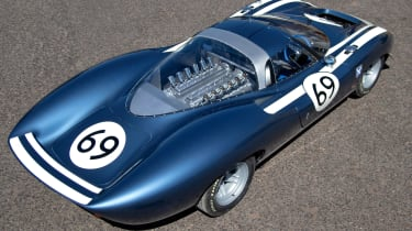 Ecurie Ecosse LM69 - rear above