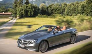 Mercedes E-Class Cabriolet - front action