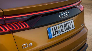Audi Q8 - rear detail