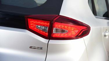 MG GS vs rivals - MG GS tail light