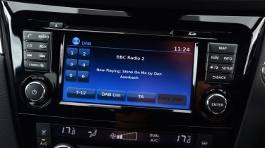 Nissan Qashqai - infotainment screen