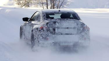 2022 BMW M2 spy - rear