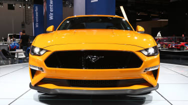 Frankfurt - Ford Mustang - grille