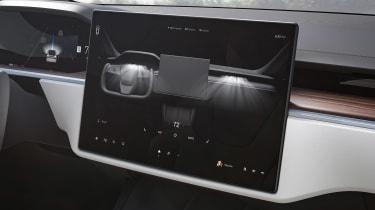 Tesla Model X facelift - screen
