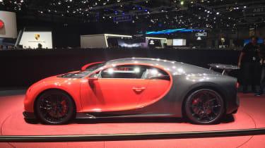 Bugatti Chiron Sport - Geneva side