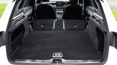 Mercedes GLC - boot seats down
