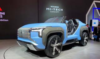 New Mitsubishi MI-TECH concept front