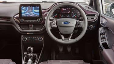 Ford Fiesta Vignale - cabin interior leather