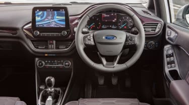Ford Fiesta Vignale - cabin interior leather