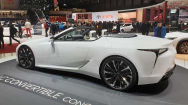 Lexus LC Convertible concept - Geneva rear