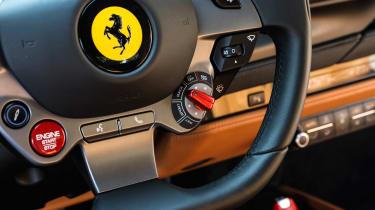 Ferrari F8 Tributo - steering wheel