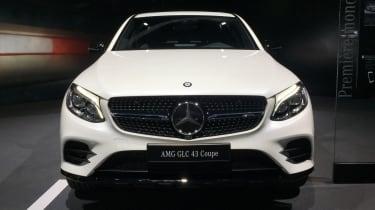 Mercedes-AMG GLC 43 Coupe - paris front
