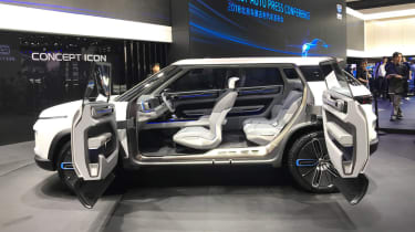 Geely Concept Icon - Beijing side doors open