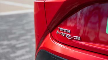 Toyota Mirai - rear badge