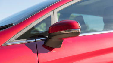 Ford Fiesta - wing mirror red