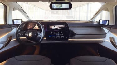 Renault Symbioz concept - dash