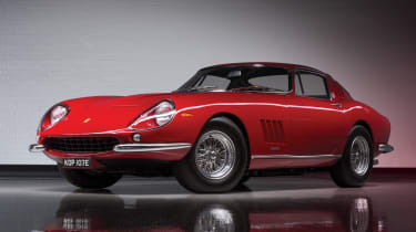 1967 Ferrari 275 GTB/4 by Scaglietti