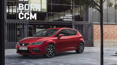 New SEAT Leon 2017 facelift