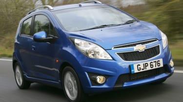 Chevrolet spark blue