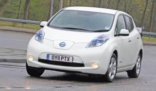 Nissan Leaf corner