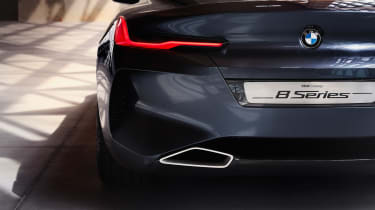 BMW Concept 8 Series - exhaust