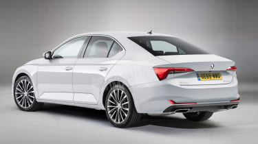 Skoda Octavia - rear (watermarked)