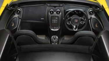 McLaren 570S Spider - dash