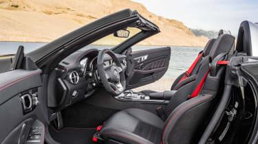 Mercedes SLC roadster - cabin