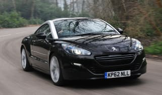 Peugeot RCZ GT front tracking