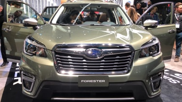 Subaru Forester 2018 New York front