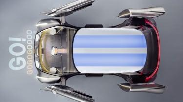 MINI Vision Next 100 concept - overhead