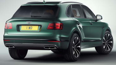Bentley Bentayga by Mulliner rear