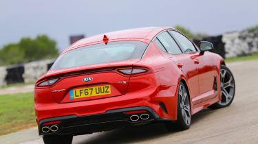 Kia Stinger - rear drift