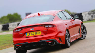 Kia Stinger - rear drift