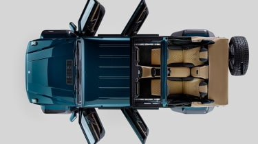 Mercedes-Maybach G 650 Landaulet top down