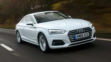 Audi A5 Coupe 2.0 TDI - front