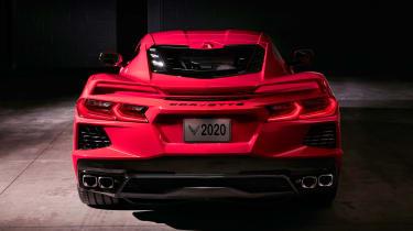 Chevrolet Corvette - full rear